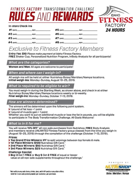 Idaho Fitness Factory Nampa : idaho, fitness, factory, nampa, Idaho, Fitness, Factory, FitnessRetro