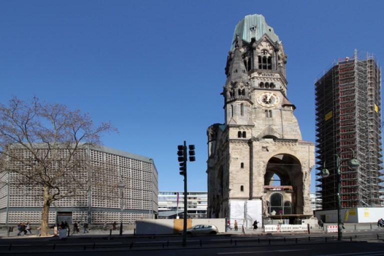 Kościół Cesarza Wilhelma wBerlinie  obecnie