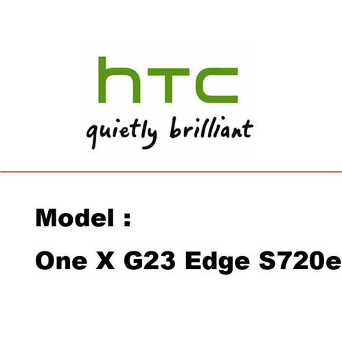 HTC One X G23 Edge S720e black edge and white printable