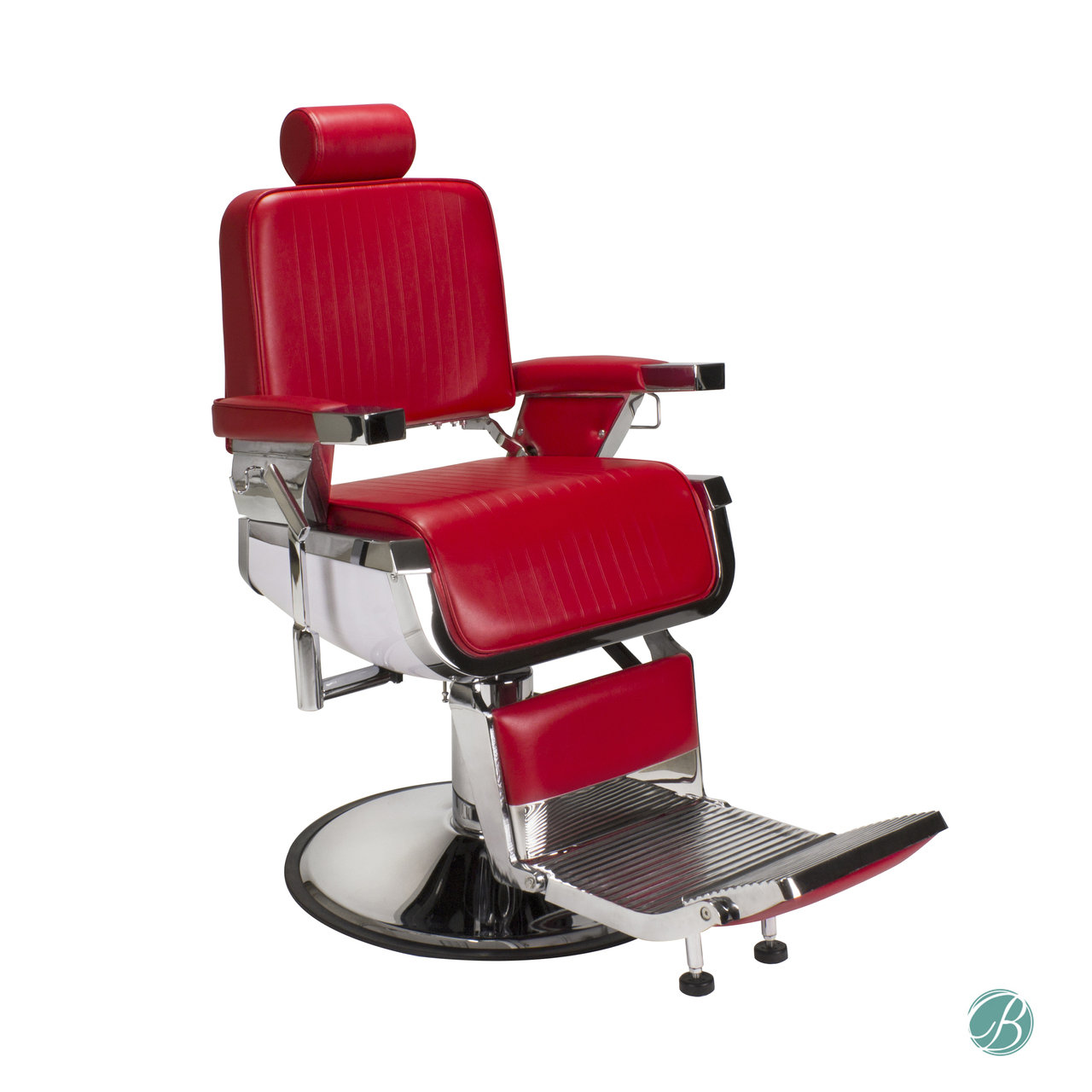 Red Barber Chair Lincoln Barber Chair