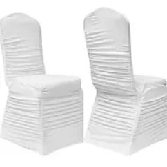 Black Ruched Chair Covers High For 1 Year Old Wedding Spandex Banquet Alberta White Cover