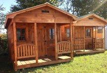 Bunkies Cabins & Sheds Prefab Kit Built