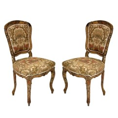 Louis Xv Chair Menards Lawn Chairs 1 Cent Pair Of French Painted J Roberts Antiques Chicago Rococo