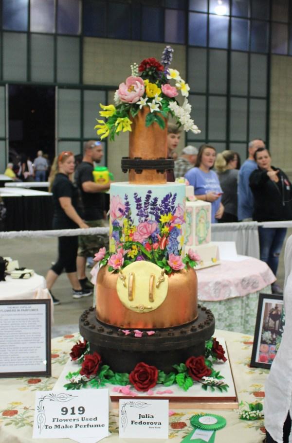 Julia Fedorova Cakes Wedding York