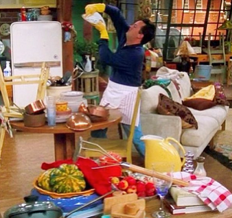 Remember That Episode Where Chandler Decides To Do Something Nice For Monica So He Cleans The Entire Apartment Then Ross Comes In And Tells Him Ed