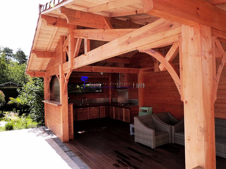 construire une cuisine d t cuisine dt ou cuisine extrieur. Black Bedroom Furniture Sets. Home Design Ideas