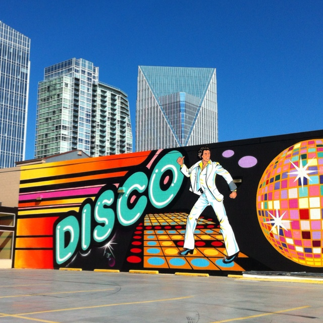 Image result for disco wall atlanta
