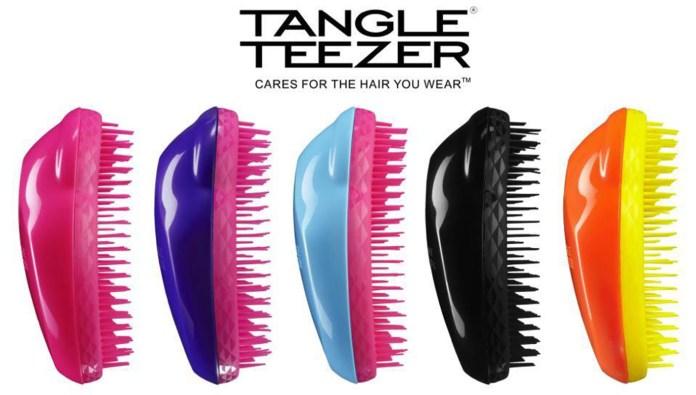 cepillos para el pelo sin tirones tangle teezer