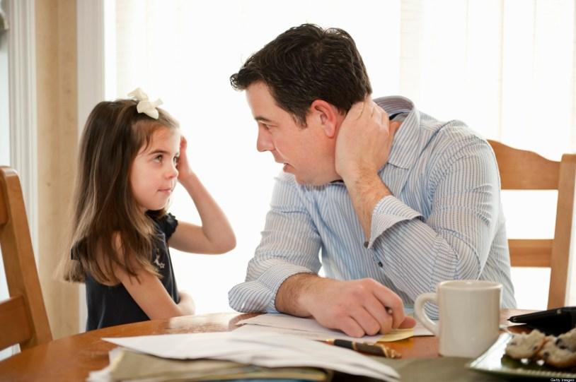 Image result for parent asking kid
