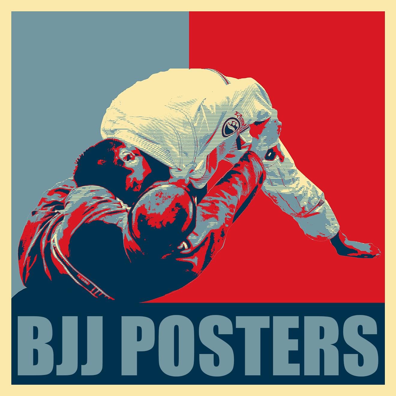bjj posters jiu jitsu wall art
