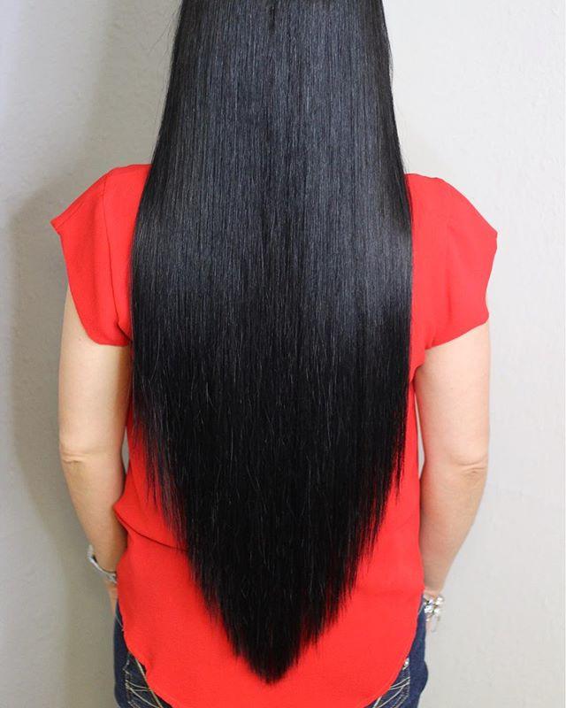 the perfect v haircut