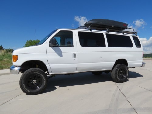 small resolution of 2005 ford e 350 extended passenger v10 timberline 4x4 van