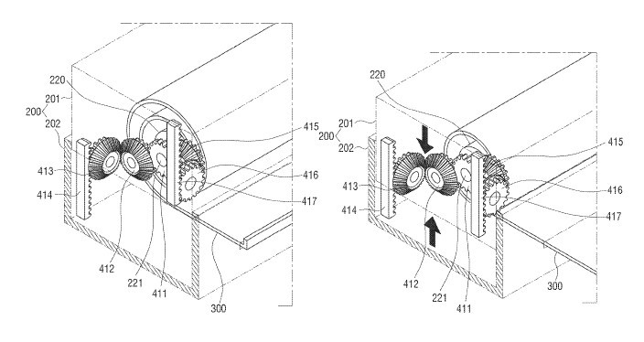 "Patent Alert: Samsung wins a patent for ""Electronic Scroll"""