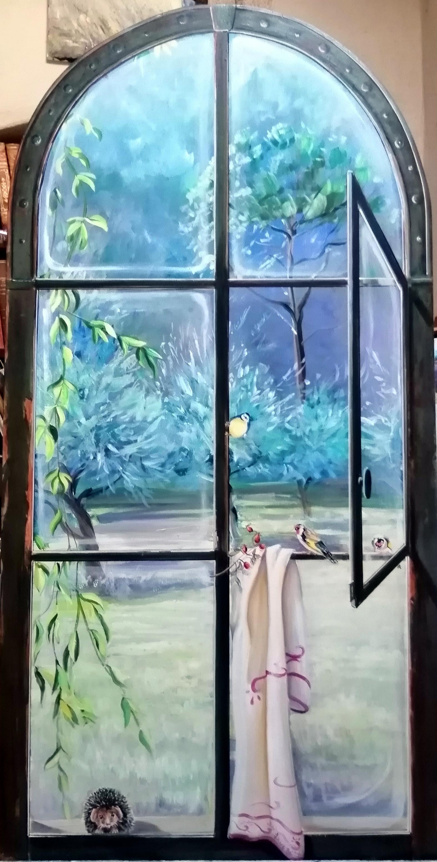 Peinture En Trompe L Oeil : peinture, trompe, Artiste, Peintre, Nyons, Trompes-l'oeil, Chantournés, Toiles