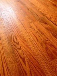 Red Oak Floors Natural Finish. Older Red Oak Strip ...