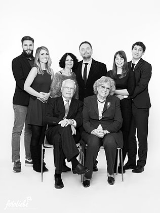 Fotoliebe Familienfotos im Fotostudio