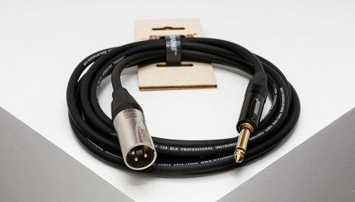 small resolution of xmjm unbalanced cable with 3 pole xlr male and 6 3 mm 1 4 ts jack connectors myshnoor