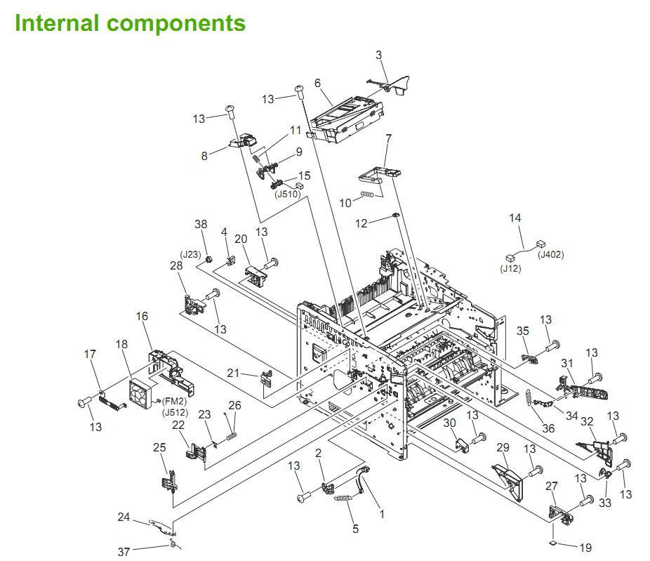HP LaserJet P3005 P3005d P3005n P3005x P3005dn Printer