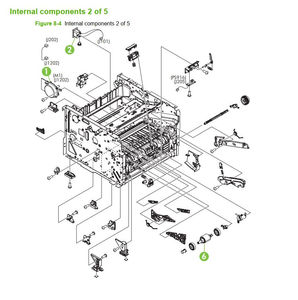 HP P2035 P2055 Laser Printer Diagrams