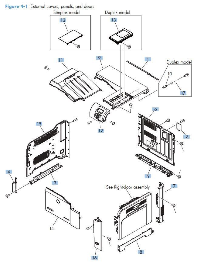 HP CP3525 CM3530