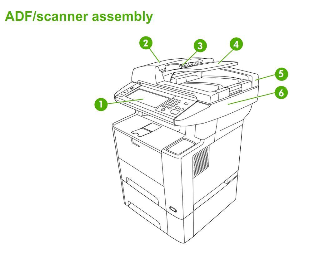 hight resolution of hp laser m3027 m3035 printer part diagrams cb414a cb415a cb416a cb417a