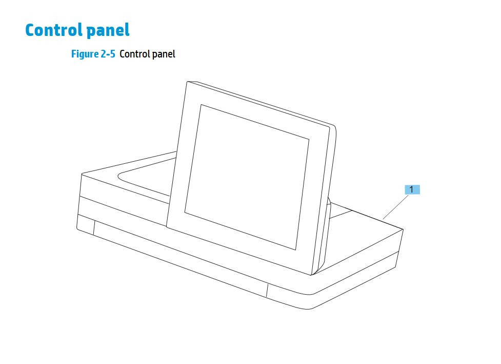 HP M630 LaserJet Enterprise MFP Printer Part Diagrams