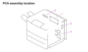 HP LaserJet 9000 9040 9050 Printer Parts Diagrams