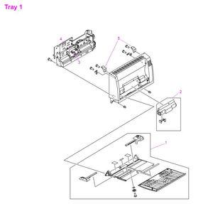 HP LaserJet 9000 9040 9050 Printer Parts Diagrams
