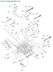 Part Diagrams- HP M651 M680 Printer Laser Printer