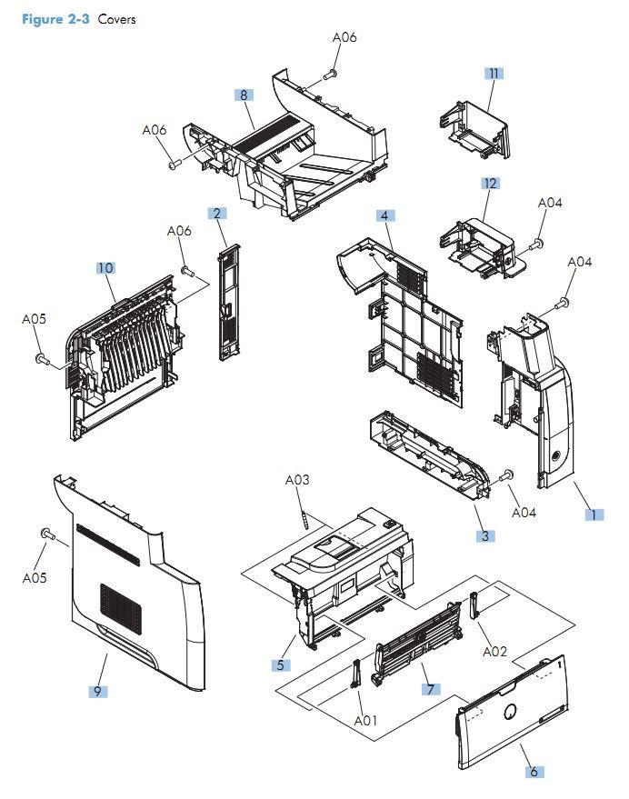 M525 Laser Printer