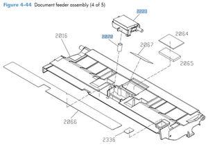 HP CM4540 Laser Printer Part Diagrams