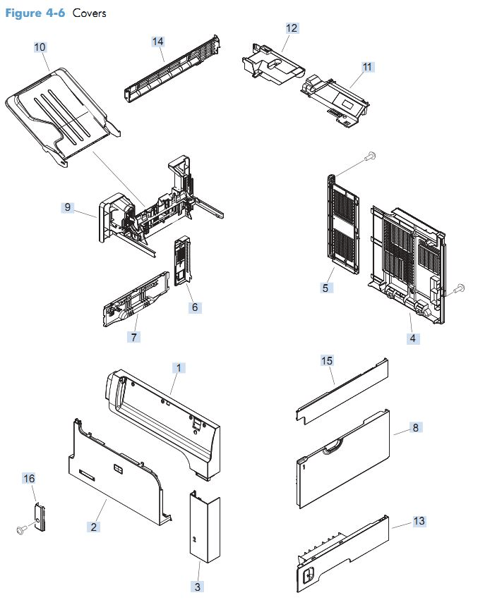 Top Replacement Printer Parts For HP M652 M653 Printers