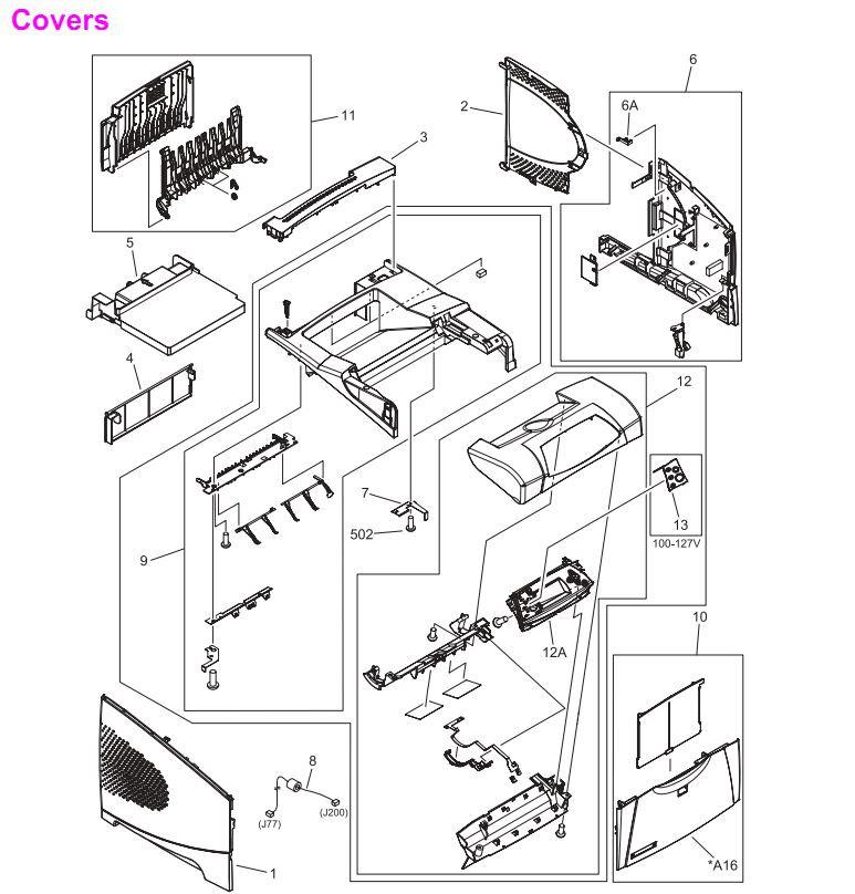 HP LaserJet 4250 4250n 4250tn 4250dtn 4250dtnsl Printer