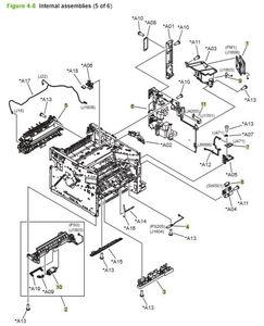 Part Diagrams- HP P3010 P3015 Laser Printer