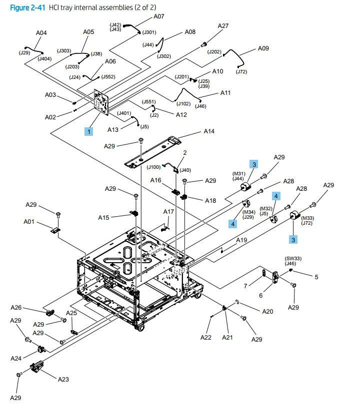 HP Color M751 M856 M776 E85055 E75245 Laser Printer