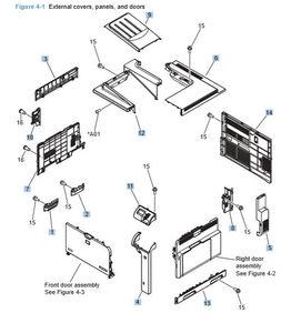 Part Diagrams- CP4025 CP4525 Color Laser Printer Part Diagrams