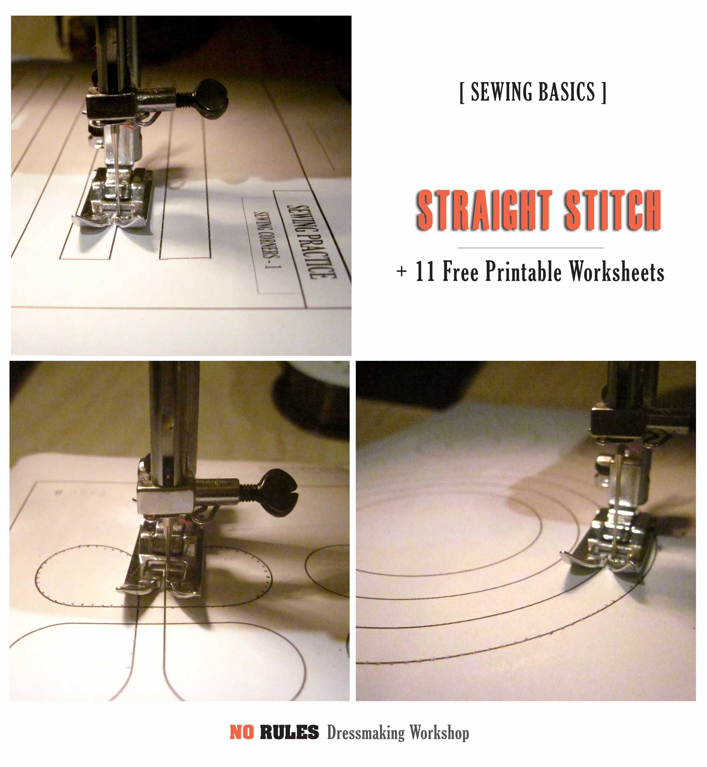 Sewing Machine Practice