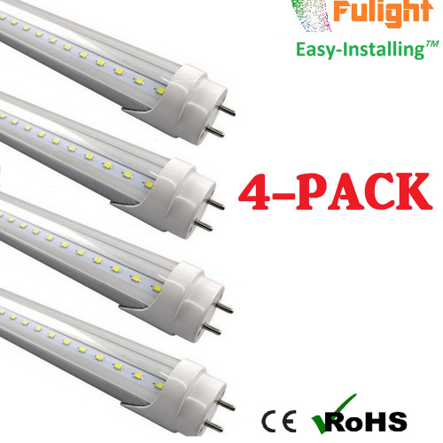 small resolution of this is a double end input t8 4ft led tube light with 18w total input power to replace 32 40w energy saving fluorescent it works from 110 120vac