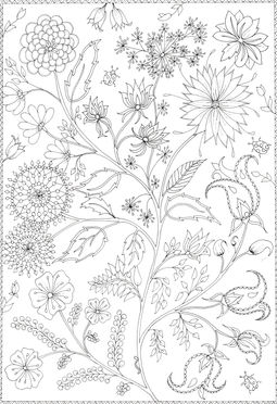 Mindful Colouring I colouring for stress relief