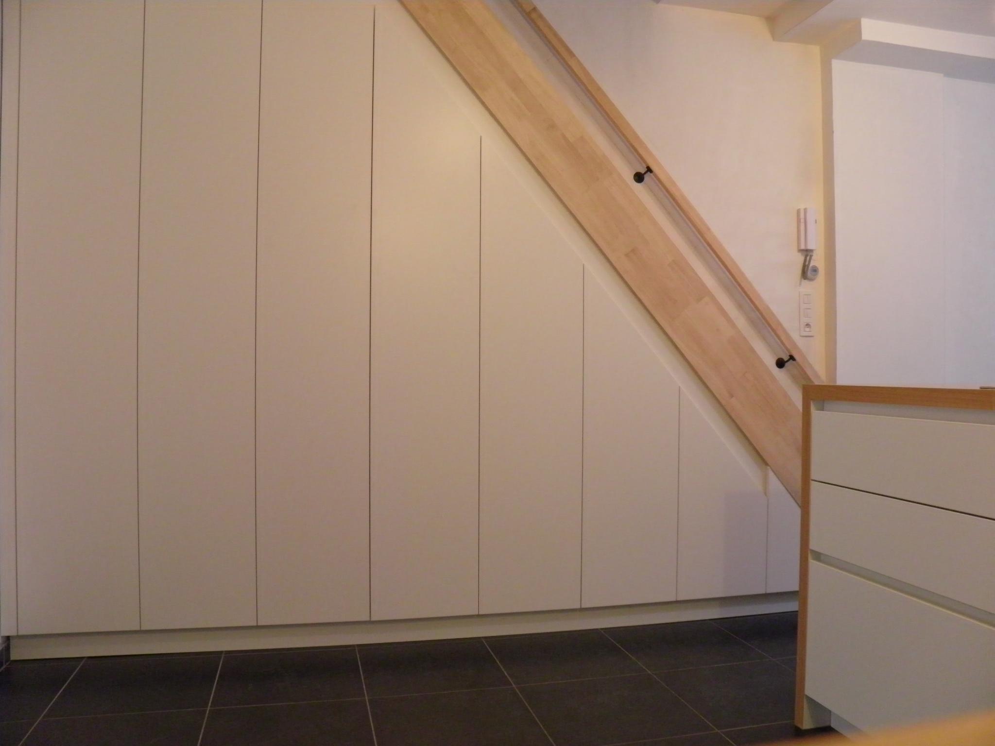 Favoriete Trapkast Maken | Een Kijkje In Onze Trapkast Homelab Interieurstyling #ZX61