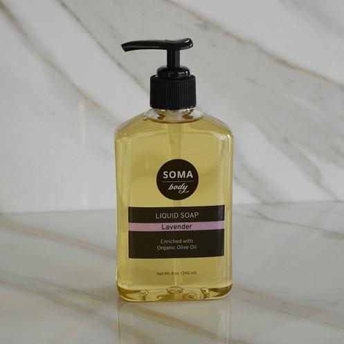 Lavender All Natural Liquid Soap