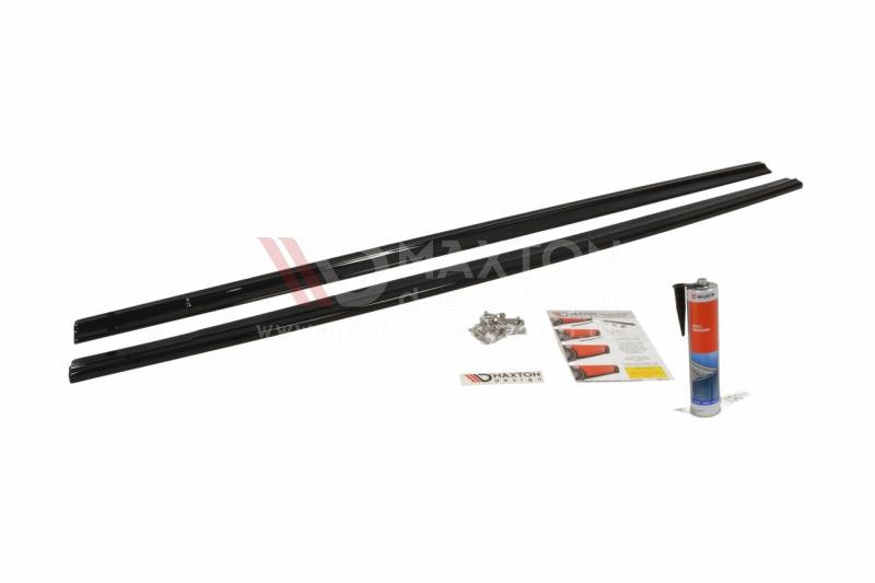 OC Motorsport Maxton Design Side Skirt Diffusers for Focus