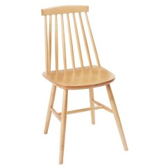 Wood Kitchen Chairs Different Color Cabinets Set Of 2 White Black Or Nat Dining Chair Modern Minimalist Made From Solid Beech Windsor Spindle High Back Side Farmhouse Style