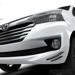 Aksesoris Grand New Avanza 2017 Diskon 2018 Aerokitz Modifikasi Toyota Racing Style Front
