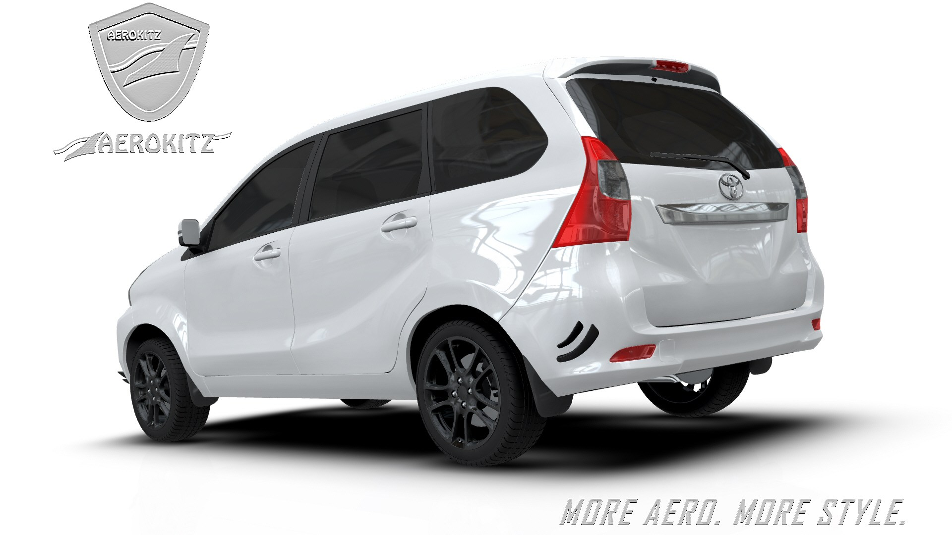 aksesoris grand new avanza 2017 toyota yaris trd sportivo modif aerokitz modifikasi racing style rear