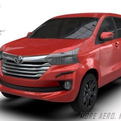 Aksesoris Grand New Avanza Dimensi Veloz Aerokitz Modifikasi Toyota Freeform Style Front