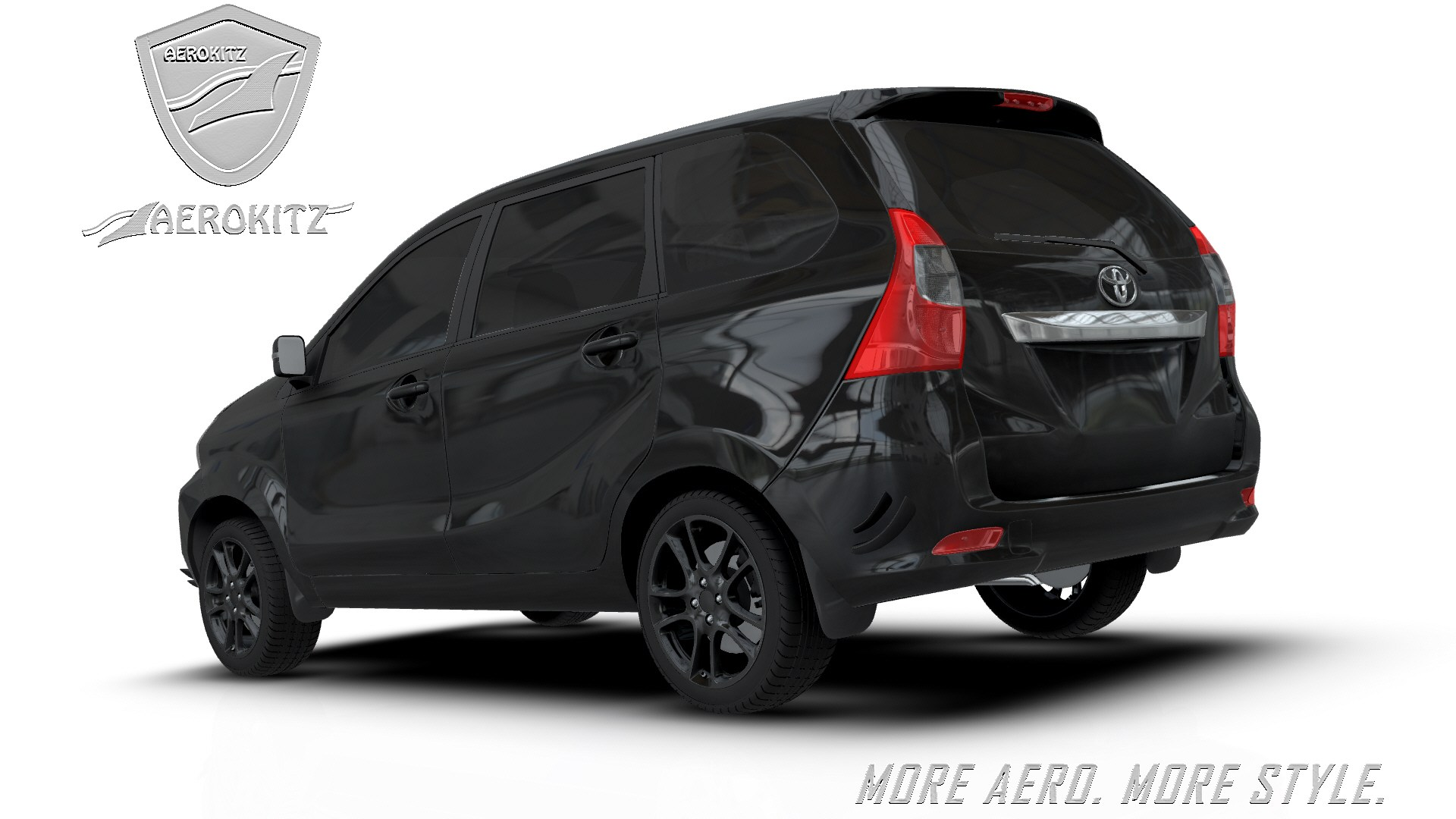aksesoris grand new avanza veloz aerokitz modifikasi toyota racing style rear