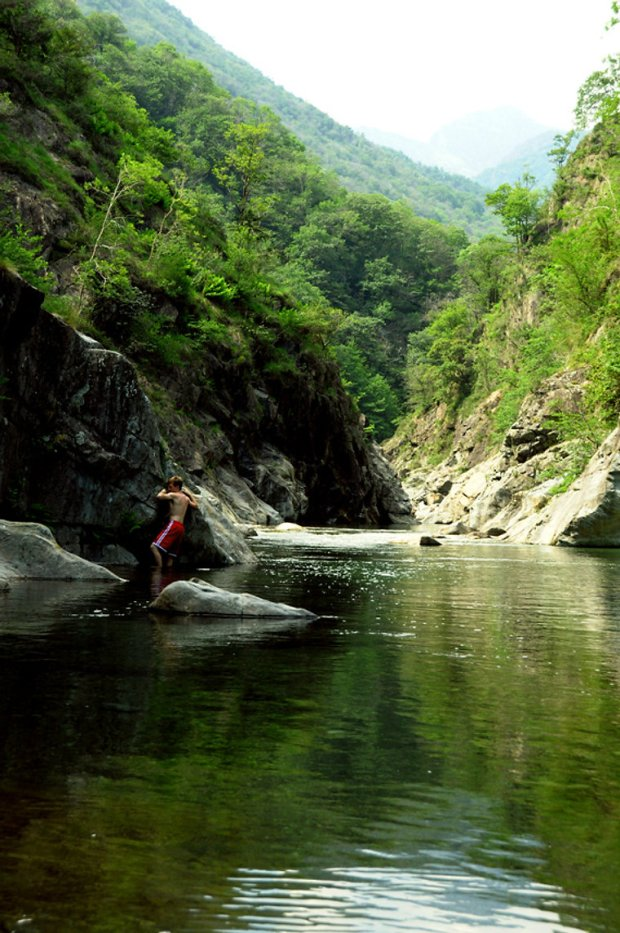 I fiumi verdi tra piemonte e svizzera il torrente san - Piscine naturali piemonte ...