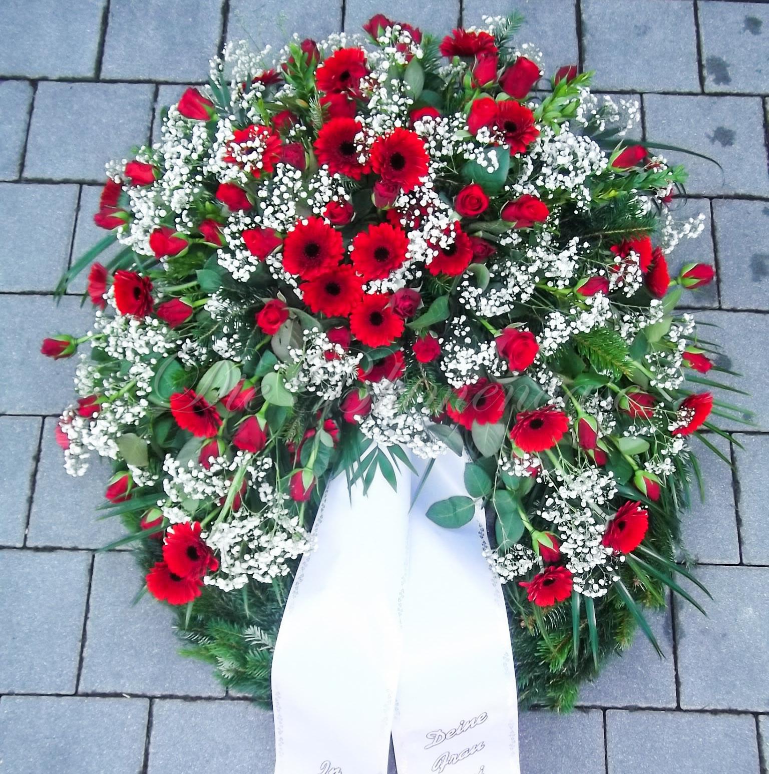 Der Trauerkranz unsere Bilder Galerie I Die Blumenoase