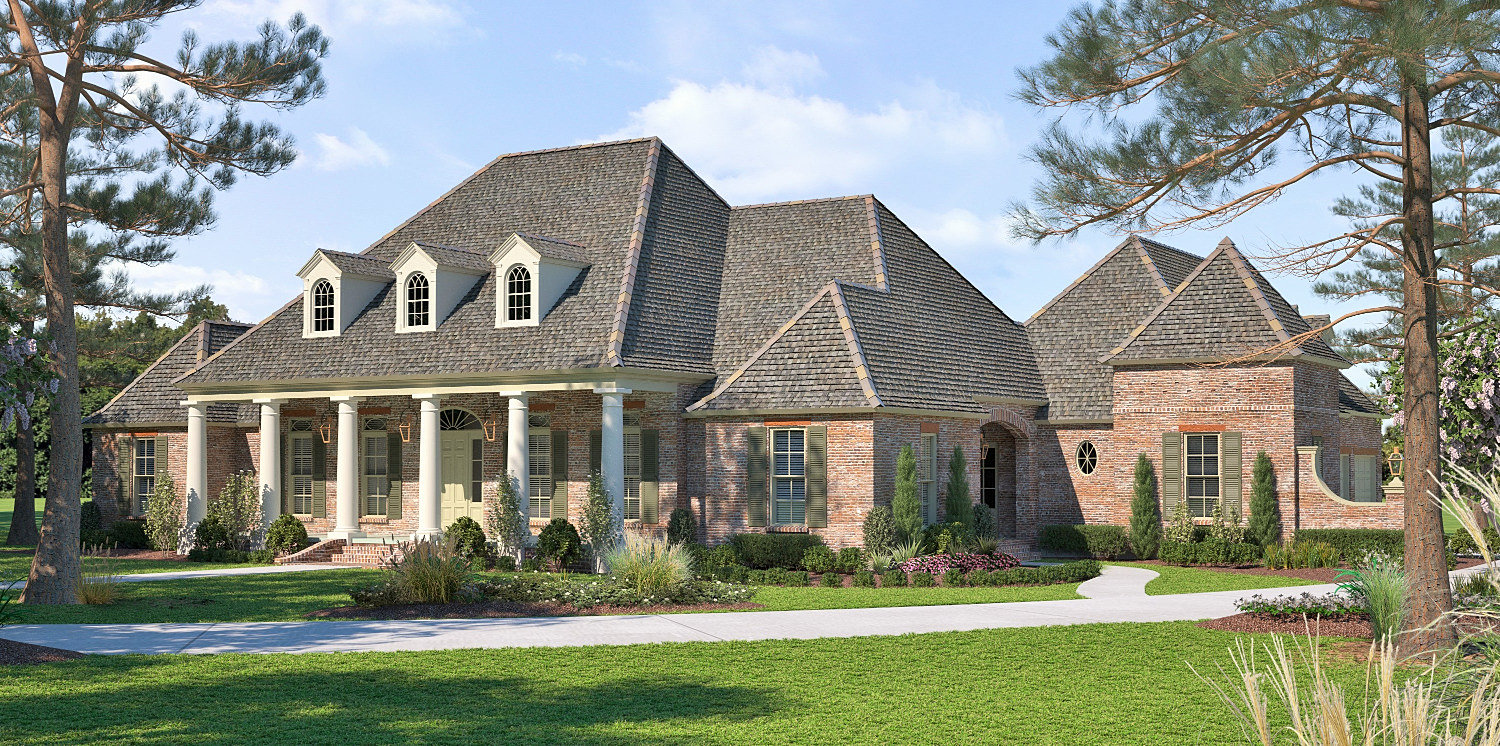 French Acadian Homes   Acadiana Home Design